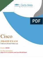 Prepare Cisco 350-029 Exam