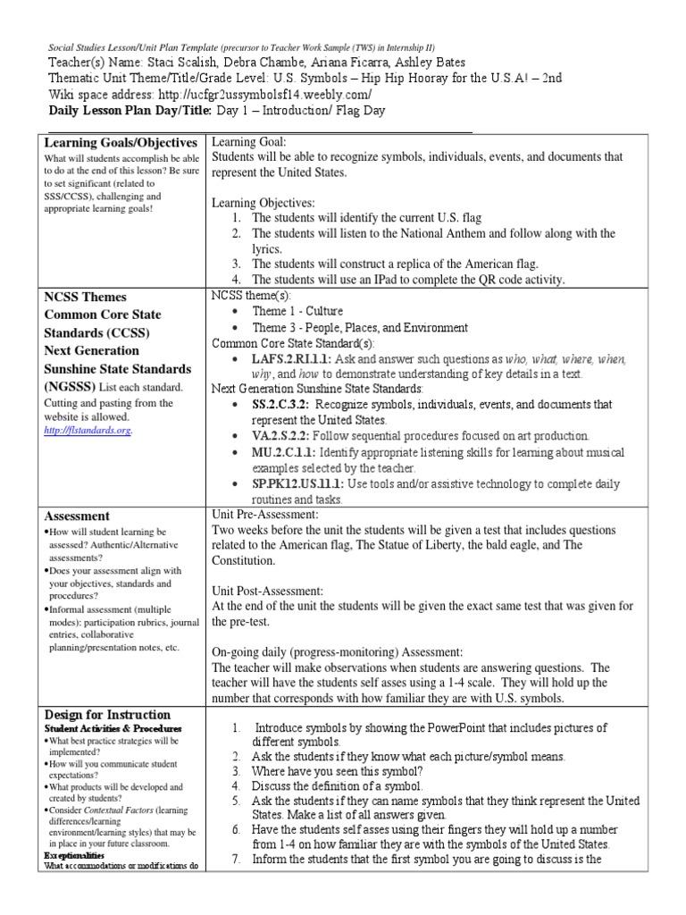Day 1 Symbols Common Core State Standards Initiative