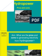 hydropower and water diversion