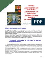 Resumen - Espana Anestesiada Sin Percibirlo