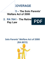 Solo & Retirement Ppt Presentation