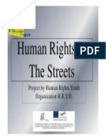 Human Rights in the Streets - English