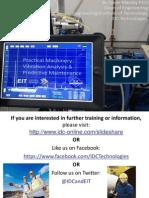 Machinery Vibration Analysis & Maintenance