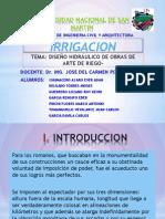 Irrigacion TRABAJO 4
