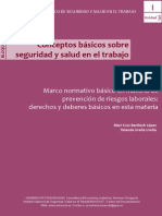Manual basico  Marco Normativo Basico Materia Prevención Riesgos Laborales