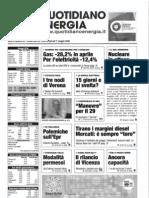 Gli italiani e il nucleare - Sondaggio
