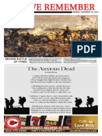 Remembrance Day special section 2014
