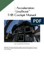 FSX F18 Manual