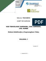 CS Sistem Antiefractie Si Supraveghere Video - Nt Sarmasel