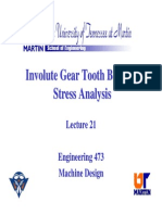 152145718 Gear Tooth Analysis
