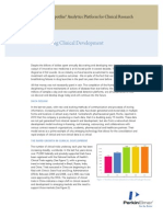 Transforming Clinical Development White Paper