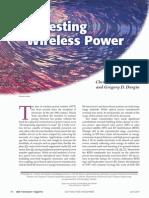 Harvesting Wireless Power
