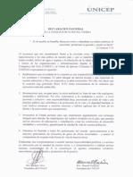 Declaracion Pastoral Por La Sanidad de Nuestra Tierra Conep Unicep