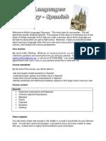 spanish syllabus  quarter 1 for website docx