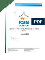 Alta Vulnerabilidad en Costa Rica