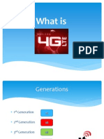 What is 4G lte