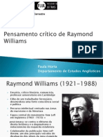 Pensamento Critico de Raymond Williams