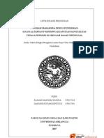 Karya Tulis Mahasiswa Bidang Pendidikan (PPMP)