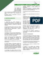 Modelo Instrução de Serviço - Fundações - Estacas Pré-Moldadas