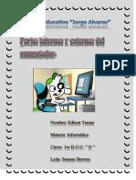 Partes Externas e Internas Del Computador