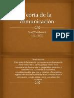 Teoría de La Comunicación