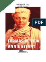 FORMAS DE VIDA ANNIE BESANT