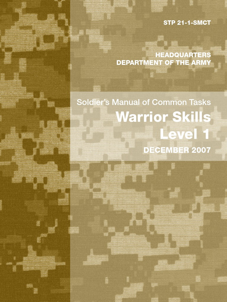 Army stp21 1 soldiers manual of common tasks warrior skills army stp21 1 soldiers manual of common tasks warrior skills level 1 machine gun cbrn defense nvjuhfo Images