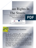 Human Rights in the Streets - Deutsch
