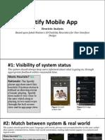 spotify mobile app