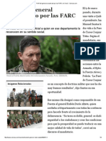 Perfil Del General Secuestrado Por Las FARC en Chocó - Semana