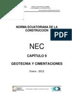 Nec Cap9 Geotecnia Cimentaciones