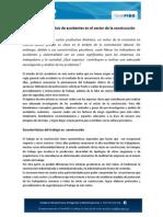 Investigacic3b3n y Anc3a1lisis de Accidentes en El Sector de La Construccic3b3n