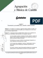 Estatutos de la Banda de Música de Candás (30/09/1999)
