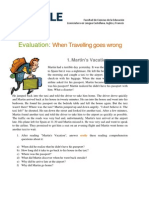 Evaluation- When Travelling goes wrong.docx