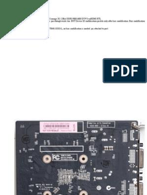 mod quadro pdf | Bios | Resistor