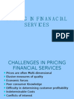 Pricing in Finanacial Services Unit-3