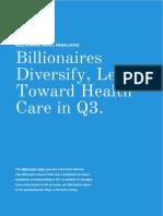 IBillionaire Index Q3 Rebalance Report