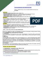 Writing Handbook and Tips