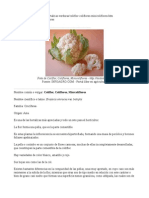 Coliflor (Ficha)