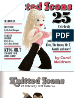 Knitted Icons 25 Celebrity Doll Patterns