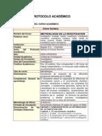 Protocolo 100103 Metodologia de La Investigacion 2012-I