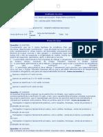 AV1 Legislação Tributária A