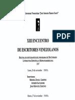 1. Publicidad (Afiche Estudiantes XIII)