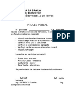 Proces Verbal Revizie Statia Betoane Varsatura