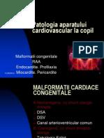 Patologia aparatului cardiovascular la copilASM2012final