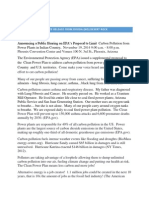 11-19-2014 Press Release for US EPA Clean Air Hearing