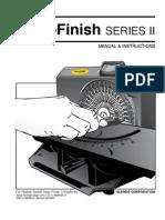 Accu-Finish II Manual