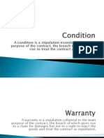 98335954 Condition and Warranties Ppt
