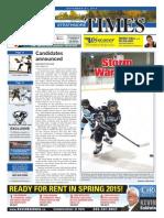 November 21, 2014 Strathmore Times