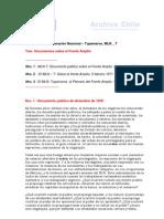 Tres Documentos sobre el Frente Amplio